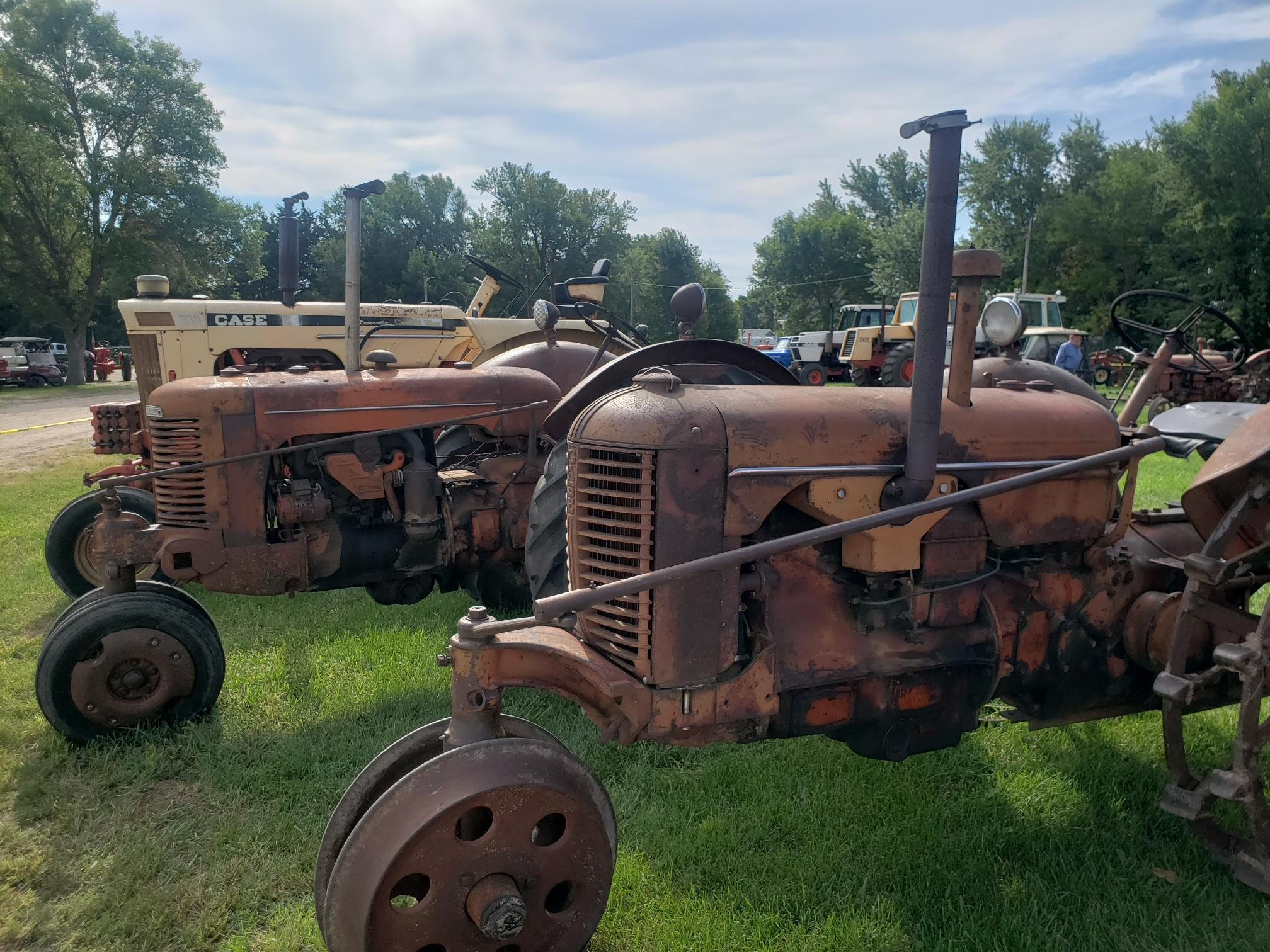 'Pierce Old Time Threshers Bee' rides again