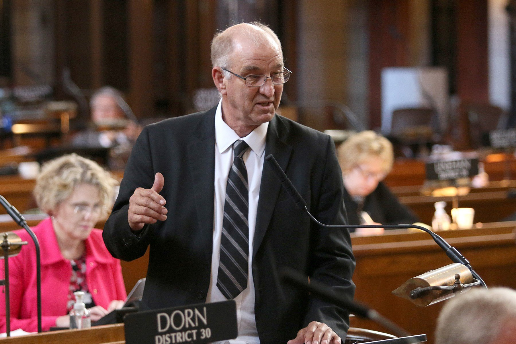 Gage County could be split up as part of legislative redistricting