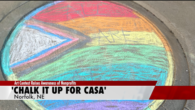 'Chalk it up for CASA' promotes family advocates