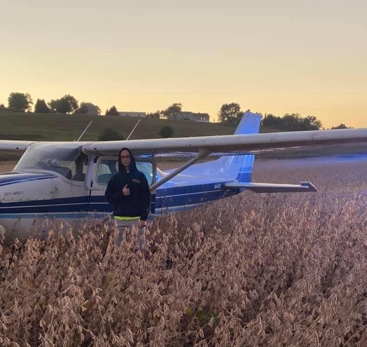 Teen performs emergency landing north of Yutan