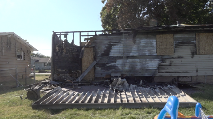 Family escapes house fire, says egress window saved their life