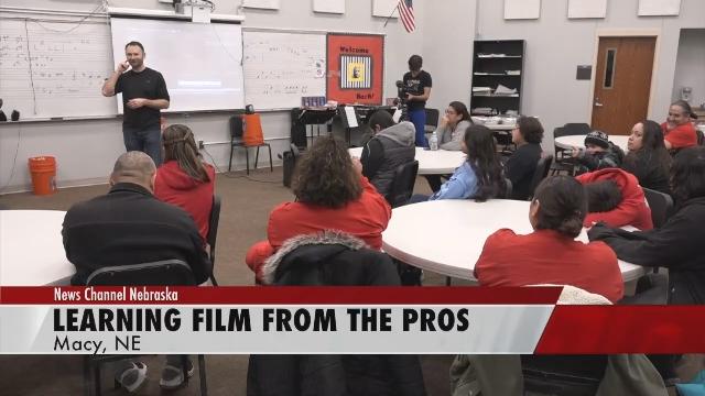 I Love Public Schools Doc Crew teaches at Omaha Nation