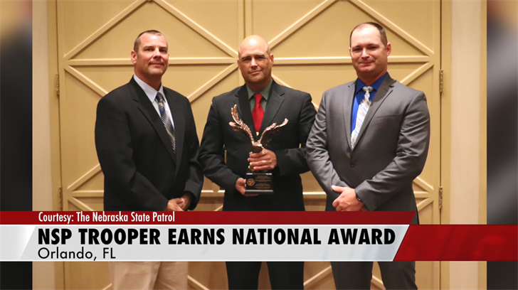 Trooper Sam Mortensen Named MVCI National Officer of the