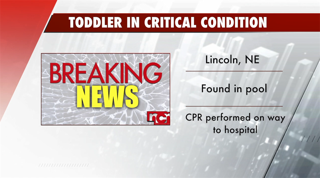 Toddler taken to hospital with CPR in progress after being