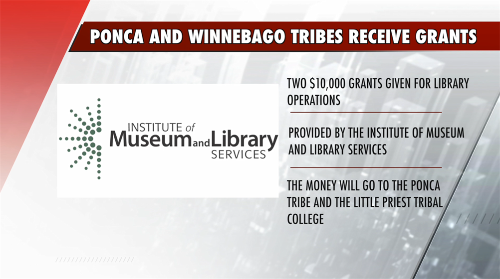 Ponca and Winnebago Tribes receive federal grants for