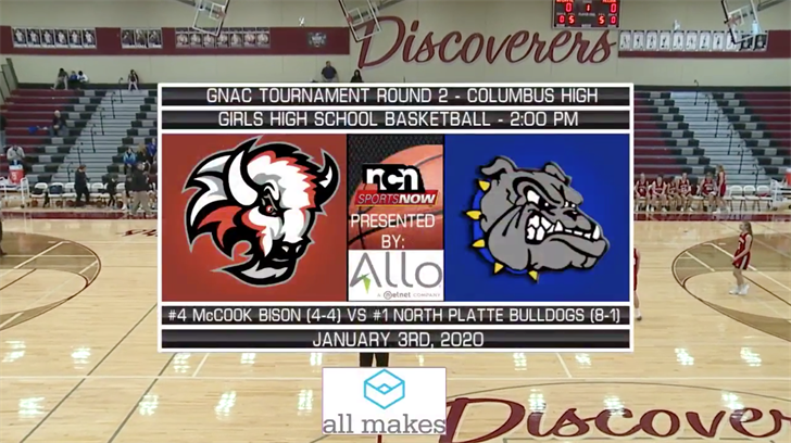 Jan 3rd Gnac Girls And Boys Semifinals Ncn Tv River Country News Channel Nebraska