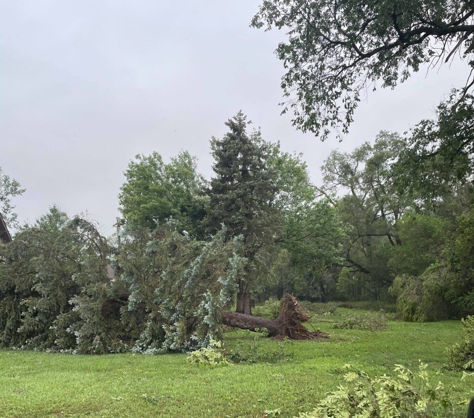 This photo, taken by Trent Carstens, was taken between Meadow Grove and Battle Creek.