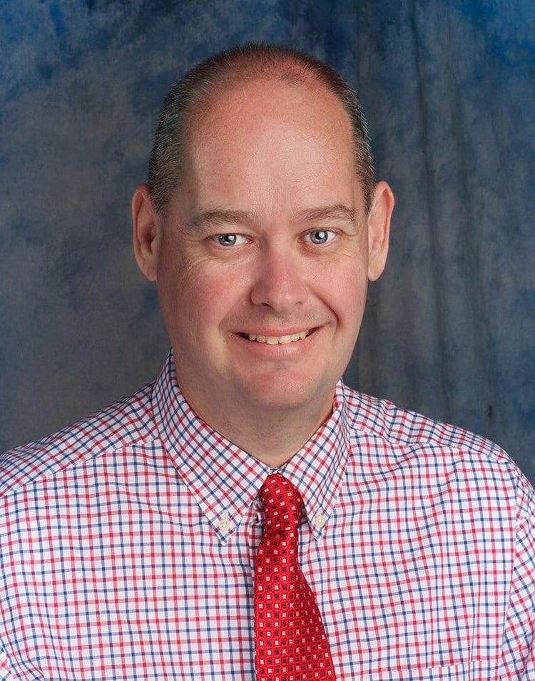 Dr. Brett Bright (Photo courtesy: Hutchinson Community